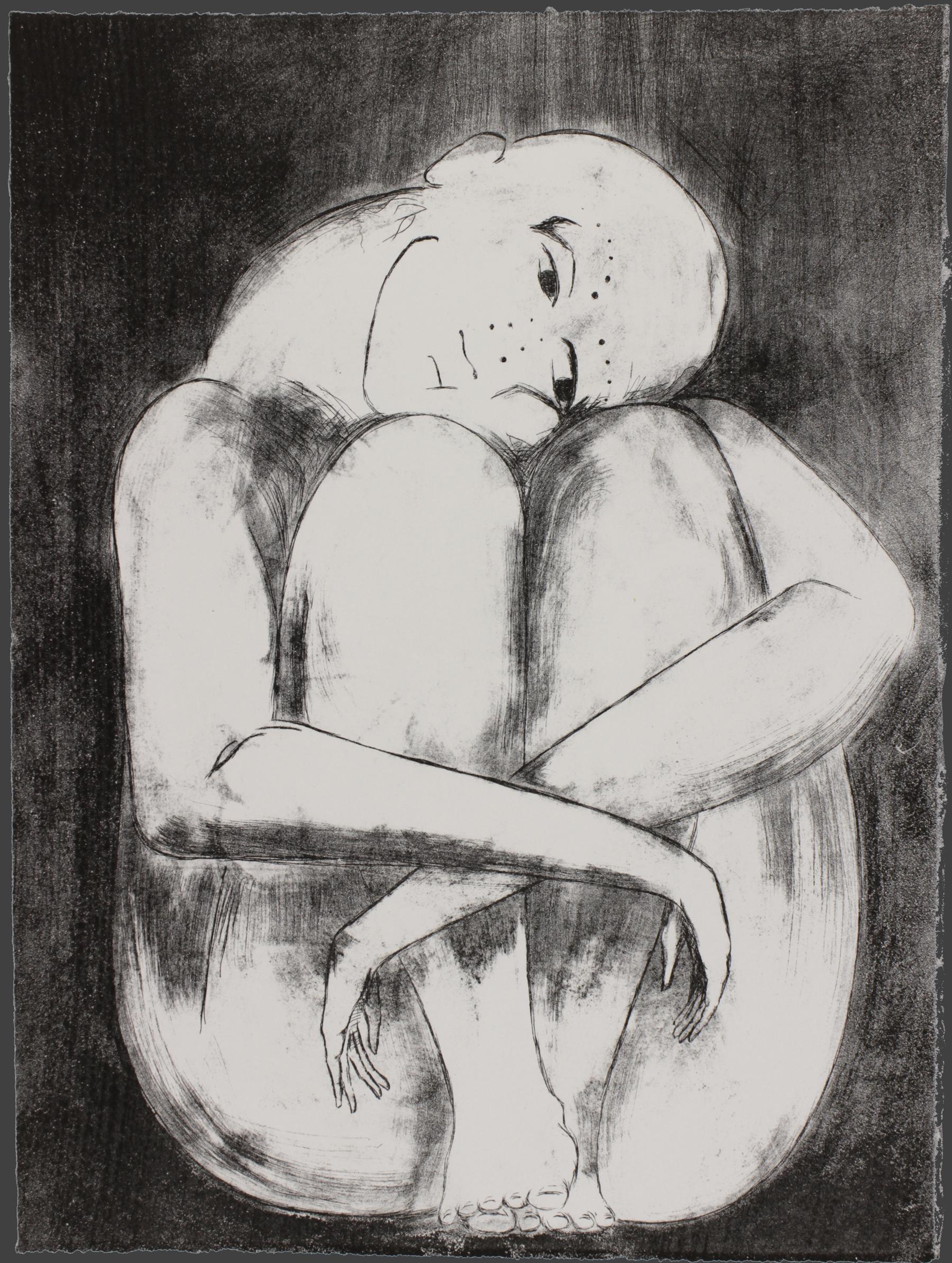 Lithograph print by Ada Denil